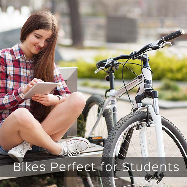 student bikes for the city and campus